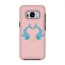 Galaxy S8  Narwhal heart by Laura Nagel