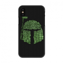 iPhone X  Crocodile Boba Fett by Sitchko Igor