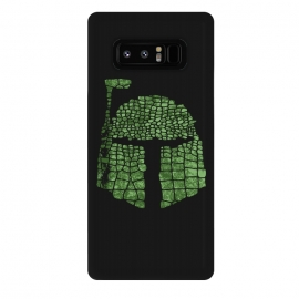 Galaxy Note 8  Crocodile Boba Fett by  (Star,wars,boba fett,boba,fett,star wars,empire,galaxy,stormtrooper,trooper,storm,soldier,army,character,crocodile,animal,reptile,green,skin,mixed)