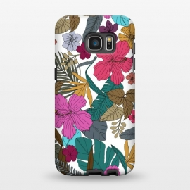 Galaxy S7 EDGE  Tropical flower by Susanna Nousiainen