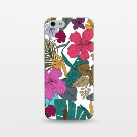 iPhone 5/5E/5s  Tropical flower by Susanna Nousiainen