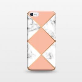 iPhone 5C  Marble Geometry 001 by Jelena Obradovic