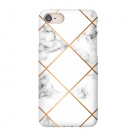 iPhone 8/7  Marble Geometry 002 by Jelena Obradovic