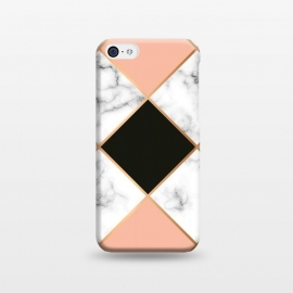 iPhone 5C  Marble Geometry 003 by Jelena Obradovic