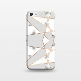 iPhone 5C  Marble Geometry 004 by Jelena Obradovic