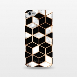iPhone 5/5E/5s  Marble Geometry 005 by Jelena Obradovic