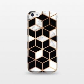 iPhone 5C  Marble Geometry 005 by Jelena Obradovic