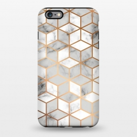 iPhone 6/6s plus  Marble Geometry 007 by Jelena Obradovic