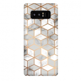 Galaxy Note 8  Marble Geometry 007 by