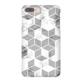 iPhone 8/7 plus  Marble Geometry 008 by