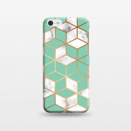 iPhone 5C  Marble Geometry 009 by Jelena Obradovic