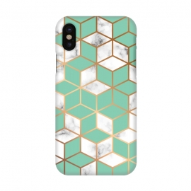 iPhone X  Marble Geometry 009 by Jelena Obradovic