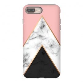 iPhone 8/7 plus  Marble Geometry 010 by Jelena Obradovic