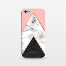 iPhone 5/5E/5s  Marble Geometry 010 by Jelena Obradovic