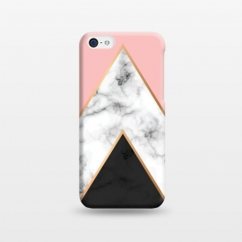 iPhone 5C  Marble Geometry 010 by Jelena Obradovic