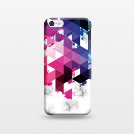 iPhone 5C  Marble Geometry 013 by Jelena Obradovic