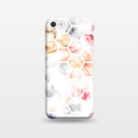 iPhone 5C  Marble Geometry 014 by Jelena Obradovic