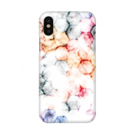 iPhone X  Marble Geometry 015 by Jelena Obradovic
