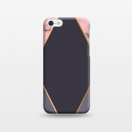 iPhone 5C  Marble Geometry 018 by Jelena Obradovic