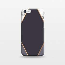 iPhone 5C  Marble Geometry 019 by Jelena Obradovic