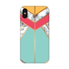 iPhone X  Marble Geometry 020 by