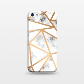iPhone 5C  Marble Geometry 021 by Jelena Obradovic