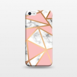 iPhone 5C  Marble Geometry 022 by Jelena Obradovic
