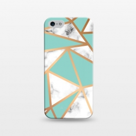 iPhone 5/5E/5s  Marble Geometry 023 by Jelena Obradovic
