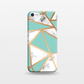 iPhone 5C  Marble Geometry 023 by Jelena Obradovic
