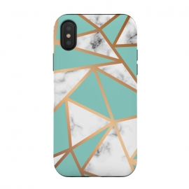 iPhone X  Marble Geometry 023 by Jelena Obradovic