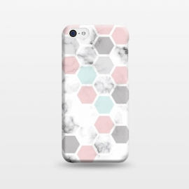 iPhone 5C  Marble Geometry 024 by Jelena Obradovic