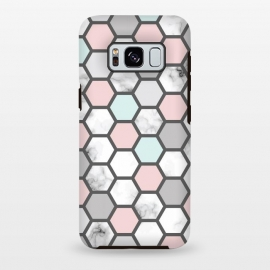 Galaxy S8 plus  Marble Geometry 026 by