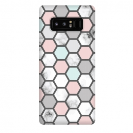 Galaxy Note 8  Marble Geometry 026 by Jelena Obradovic