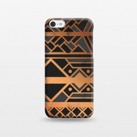 iPhone 5C  Black and Gold 028 by Jelena Obradovic