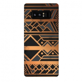 Galaxy Note 8  Black and Gold 028 by