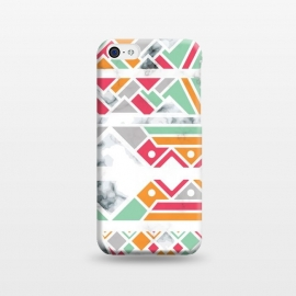 iPhone 5C  Marble Geometry 030 by Jelena Obradovic