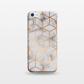 iPhone 5C  Marble Geometry 031 by Jelena Obradovic