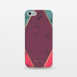 iPhone 5/5E/5s  Marble Geometry 032 by