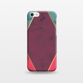 iPhone 5C  Marble Geometry 032 by Jelena Obradovic