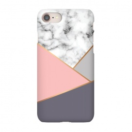iPhone 8/7  Marble Geometry 033 by Jelena Obradovic