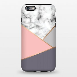 iPhone 6/6s plus  Marble Geometry 033 by Jelena Obradovic