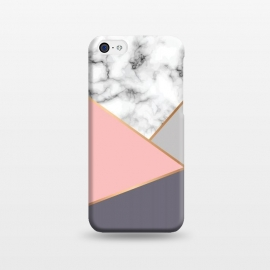iPhone 5C  Marble Geometry 033 by Jelena Obradovic