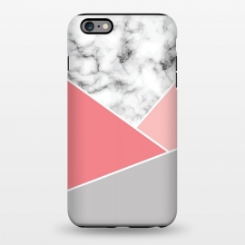 iPhone 6/6s plus  Marble Geometry 034 by Jelena Obradovic