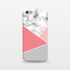 iPhone 5/5E/5s  Marble Geometry 034 by Jelena Obradovic