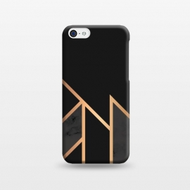 iPhone 5C  Black and Gold 035 by Jelena Obradovic