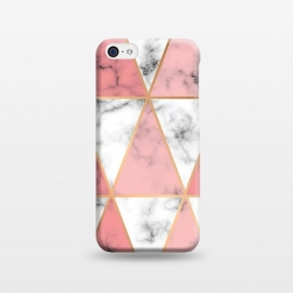 iPhone 5C  Marble Geometry 037 by Jelena Obradovic