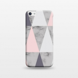 iPhone 5C  Marble Geometry 038 by Jelena Obradovic