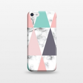 iPhone 5C  Marble Geometry 039 by Jelena Obradovic