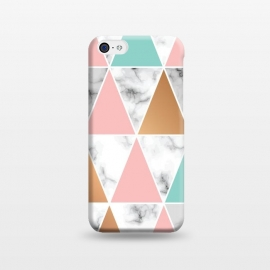 iPhone 5C  Marble Geometry 040 by Jelena Obradovic