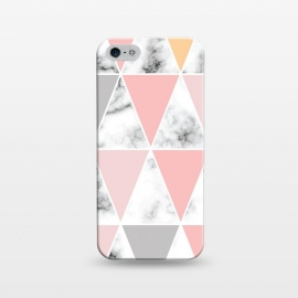 iPhone 5/5E/5s  Marble Geometry 041 by Jelena Obradovic
